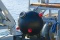 военноморская шахта от второго мира Стоковая Фотография