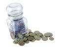 ρωσικά χρήματα Στοκ φωτογραφία με δικαίωμα ελεύθερης χρήσης