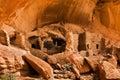 руины  ома реки Стоковая Фотография RF