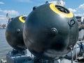 военноморская шахта Стоковые Изображения