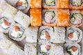 κ είστε επάνω των παρα οσιακών ιαπωνικών σουσιών τροφίμων Στοκ Φωτογραφία