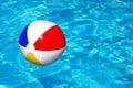 Σφαίρα παραλιών στην πισίνα