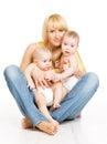 б изнецы матери и м а енца мама семьи и  ет Стоковые Фотографии RF