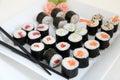 σύνο ο σουσιών παρα οσιακά ιαπωνικά τρόφιμα Στοκ εικόνες με δικαίωμα ελεύθερης χρήσης