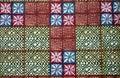 африканский уроженец ткани ткани Стоковая Фотография
