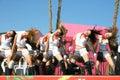 танцоры самомоднейшие Стоковое Изображение RF