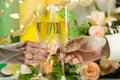 шампанское Стоковая Фотография RF