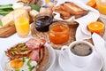 早午餐传统的曼哈顿 图库摄影