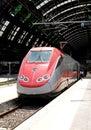 中央米兰火车站 免版税库存图片