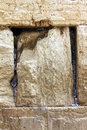Nones to god in western wall jerusalem israel Royalty Free Stock Image