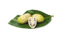 Noni isolated white background Royalty Free Stock Images