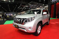 Nonthaburi november toyota land cruiser prado car on displ display at the th thailand international motor expo in Royalty Free Stock Photo