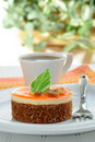 Nontraditional Carrot Cake Royalty Free Stock Images