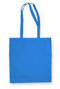 Nonwoven bag on white with shadow Stock Images