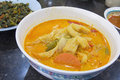 Nonya sayur lodeh vegetable soup malaysian dish Stock Photos