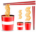 Noodle cup Royalty Free Stock Image