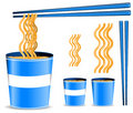 Noodle cup Royalty Free Stock Images