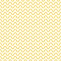 Noodle seamless pattern. Yellow and white waves. Abstract wavy background. Vector