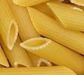 Noodles full frame background with lots of italian rigatoni Royalty Free Stock Images