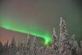 noorderlicht (aurora borealis) Royalty Free Stock Photo