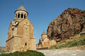 Noravank monastery in Armenia Stock Photo