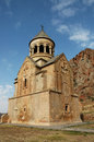 Noravank th century armenian monastery new is a located km from yerevan in a narrow gorge made by the amaghu Stock Image