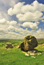 Norber Erratic, Norber, Austwick, West Yorkshire Royalty Free Stock Photo