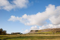 Norber Ridge in Yorkshire Dales National Park Royalty Free Stock Photo