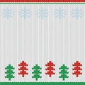 Nordic christmas background merry handcraft card Royalty Free Stock Images