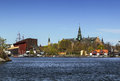 Nordic Museum and Vasa ship Museum, Stockholm Royalty Free Stock Photo