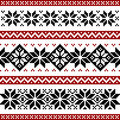 Nordic pattern Stock Photo