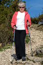 Nordic walking Stock Photography