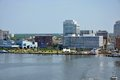 Norfolk Skyline, Virginia Royalty Free Stock Photography