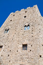 Norman tower. Pietramontecorvino. Puglia. Italy. Stock Photos