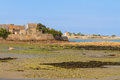 Normandy coast near saint vaast la hougue and tatihou island france the fortifications are a unesco world heritage site Stock Photos
