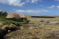 Norse mill and kiln Shawbost, Isle of Lewis, Scotland Royalty Free Stock Photo