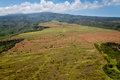 Nortehrn maui aerial view of rural areas of northern Royalty Free Stock Photo