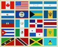 North America countries Stock Images