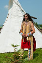North American Indian Stock Photography