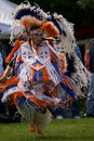 North American Indian Pow Wow. Royalty Free Stock Photo