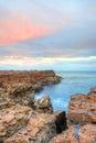 North avoca craggy escarpment rocky nsw australia Stock Photos