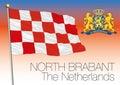 North Brabant regional flag, Netherlands, European union