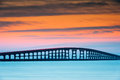 North carolina outer banks herbert bonner bridge the c was built in and provides the only land access between hatteras island a Stock Images