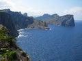 North Coast Of Majorca, Spain Stock Photography