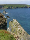North Cornish Coast, Navax Point, England Stock Photos