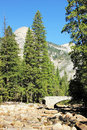 North Dome Yosemite National Park California USA Royalty Free Stock Photography