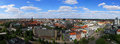 North hannover aerial view of in germany Royalty Free Stock Photo