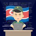 North Korean hacker, Thief trying to hack personal information and download data.
