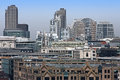 North london cityscape of with old and modern architecture buildings Stock Image