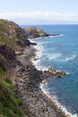 North Maui Coastline Stock Image